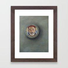 Bill Murray / Steve Zissou / Wes Anderson  Framed Art Print