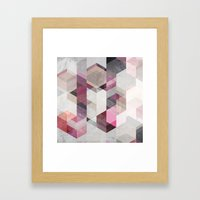 Nordic Combination 22 Y Framed Art Print