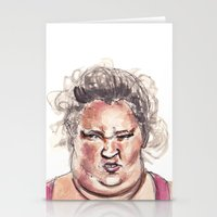 I Guess That's My Bingo Face Stationery Cards