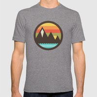 Midsummer's Eve Mens Fitted Tee Tri-Grey SMALL