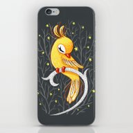 iPhone & iPod Skin featuring Magic Canary by Freeminds