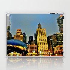 Chicago Bean Laptop & iPad Skin