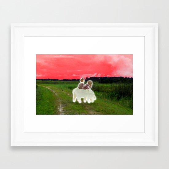 """Shrines"" by Virginia McCarthy  Cap Blackard Framed Art Print"