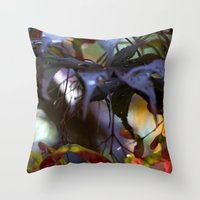 Japanese Maple Seeds III Throw Pillow