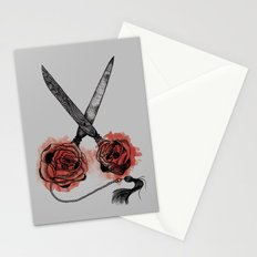 the scissors Stationery Cards