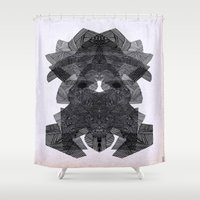 - morne social - Shower Curtain