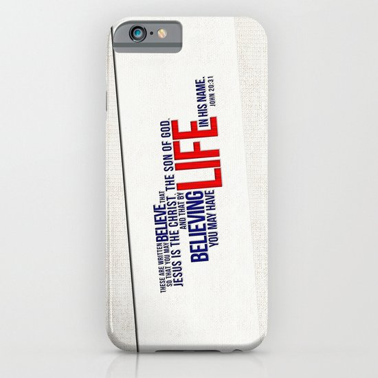 Life in His Name iPhone & iPod Case