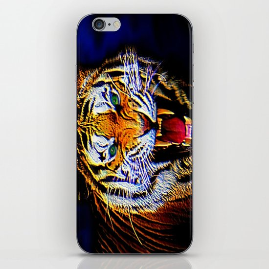 Fearless Tiger 2 iPhone & iPod Skin