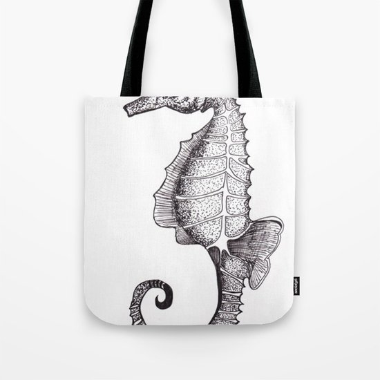 Hippocampus Abdominalis Tote Bag