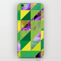 Triangles 2 iPhone & iPod Skin