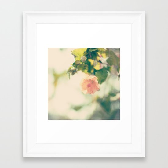 She had no heart so hardened Framed Art Print