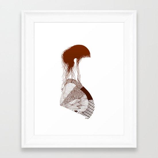 Retalhos  Framed Art Print