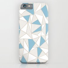 Ab Nude Lines with Blue Blocks Slim Case iPhone 6s
