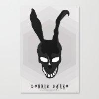MINIMAL DONNIE DARKO-1 Canvas Print