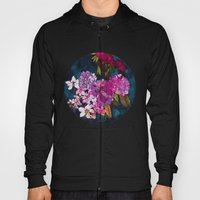 Purple Globes of Rhododendron  Hoody