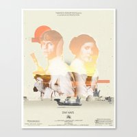 Star Wars - 2 Canvas Print