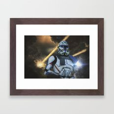 First wave Framed Art Print