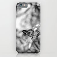 iPhone & iPod Case featuring Papillion en  Noir by Joëlle Tahindro