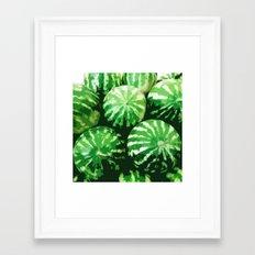 Watermelons Framed Art Print