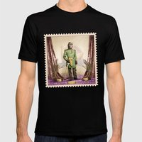 General Simian Of The Gl… Mens Fitted Tee Black SMALL