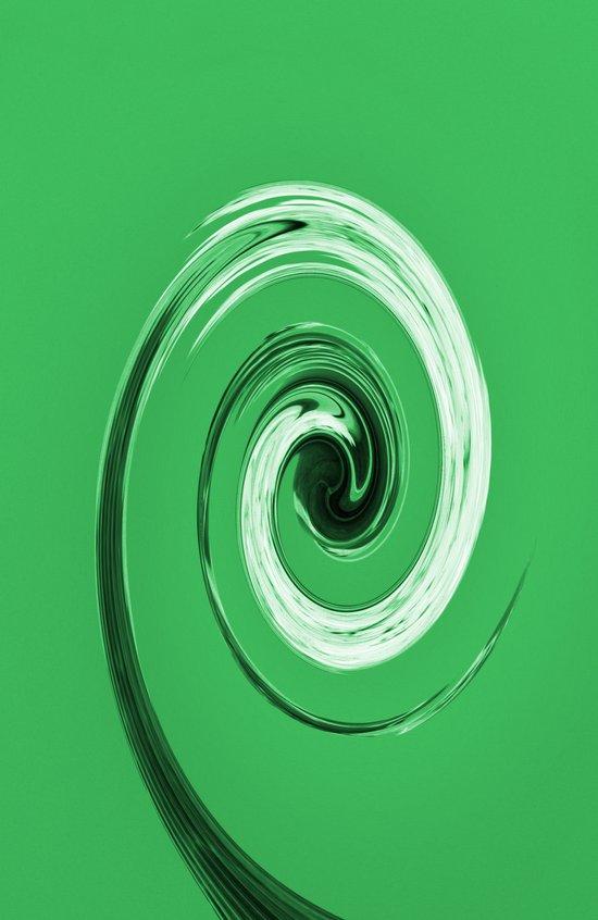 Nelsons Twirl Green Art Print