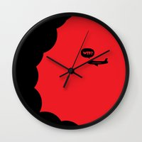 WTF? Avion! Wall Clock