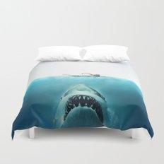 JAWS Duvet Cover
