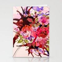 Floral Splash Stationery Cards