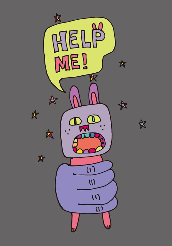 Rabbit_01 Art Print