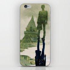 the fountain. iPhone & iPod Skin