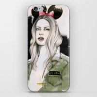 Army Girl iPhone & iPod Skin