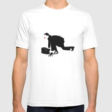 Starting Mens Fitted Tee SMALL White