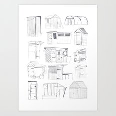 Cover, Contain, Compost - 3 of 3 Art Print