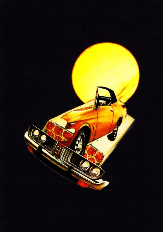 serene car Art Print