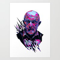 Mike Ehrmantraut // OUT/CAST Art Print