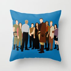 Firefly/serenity crew Throw Pillow