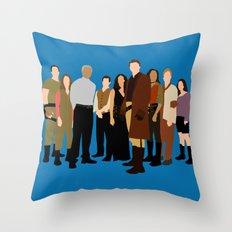 Firefly/serenity crew Throw Pillow