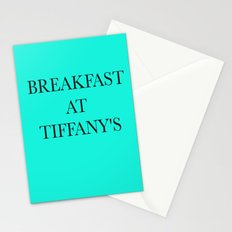 Breakfast at.. Stationery Cards