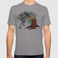 Ingrown Mens Fitted Tee Athletic Grey SMALL