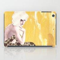Victorian Yellow iPad Case
