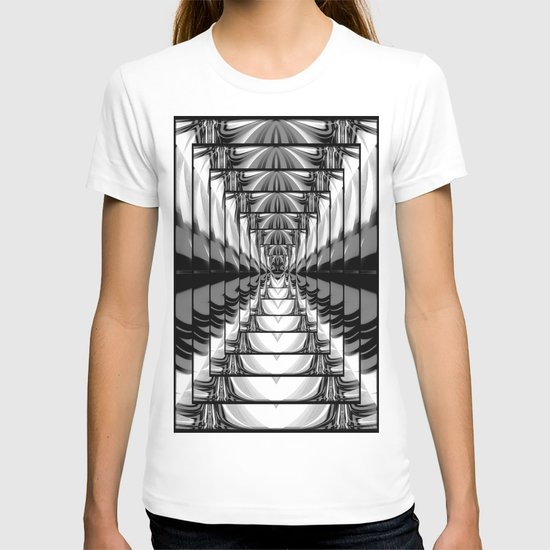 Abstract.Black+White. T-shirt