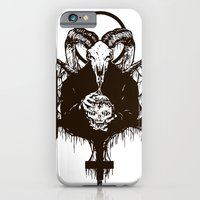 iPhone & iPod Case featuring Satan by Lunaramour