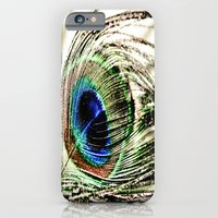 iPhone & iPod Case featuring Peacock by Maddie Weaver