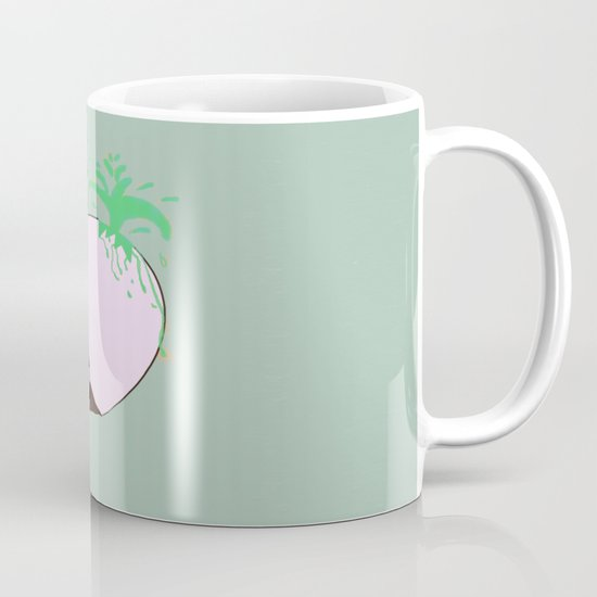 To spring a leak, is as dog is to egg. Mug