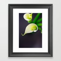 Lily Calla - Two Kids Framed Art Print