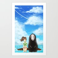 Spirited Away Art Print