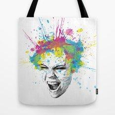 Colorful Scream Tote Bag