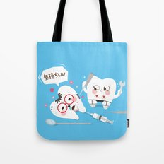 SM Tooth Tote Bag