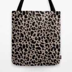 Leopard Ikat Tote Bag