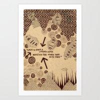 Each to each a looking glass Art Print